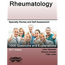 Rheumatology: Specialty Review and Self-Assessment (StatPearls Review Series Book 215) (English Edition)