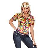 Widmann Erwachsenenkostüm T-Shirt Hippie L