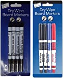 Just Stationery Dry Wipe Marker - Assorted Colours (Set of 4)
