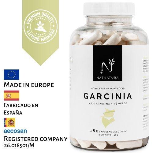 Garcinia Cambogia + L-Carnitina + Té verde. La mejor fórmula Quemagrasas para adelgazar....