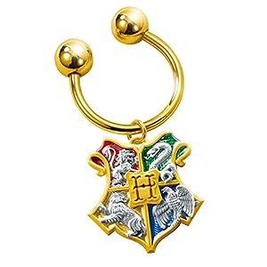 Noble Collection nn7117-Harry Potter llavero Escudo de Hogwarts
