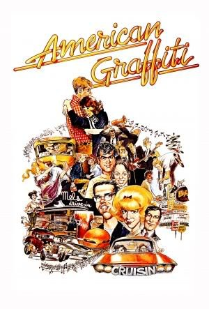 AMERICAN GRAFFITI - HARRISON FORD – Imported Movie Wall Poster Print – 30CM X 43CM (American Ford Graffiti Harrison)