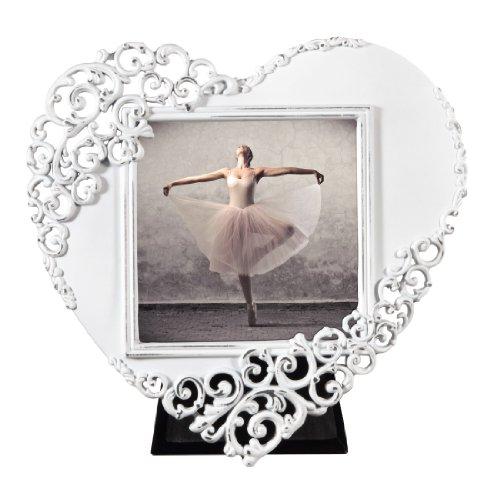 Hama 00059902 - cornice portafoto wales, a forma di cuore, 7.5 x 7.5 cm