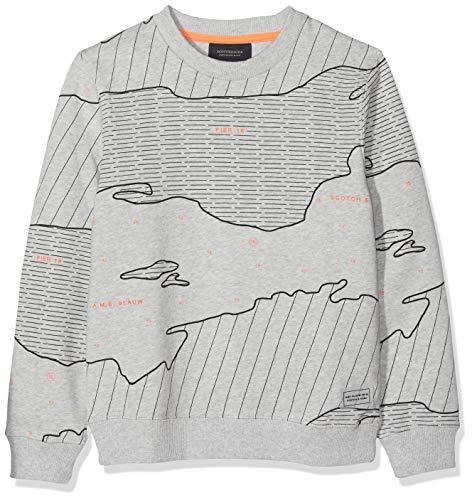 Scotch & Soda Shrunk Jungen N/A Sweatshirt, per Pack Mehrfarbig (Combo B 22), 164 (Herstellergröße: 14)