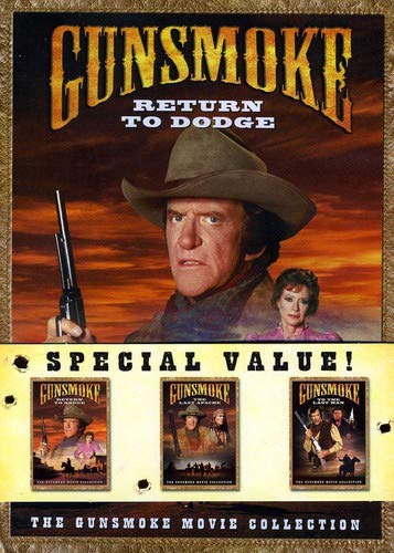 Gunsmoke Movie Collection (Return to Dodge/The Last Apache/To the Last Man) [RC 1]