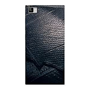 Delighted Knight Suit Black Print Back Case Cover for Xiaomi Mi3