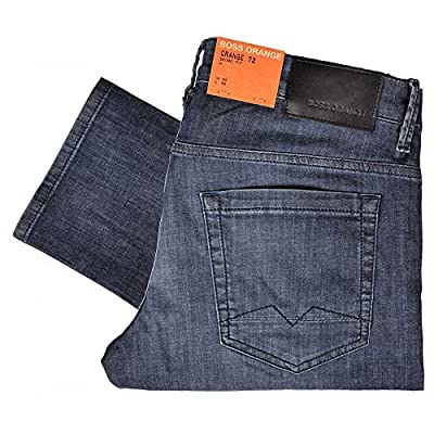 Hugo Boss Orange 72 Feel Skinny Fit Stone Wash Blue Jeans