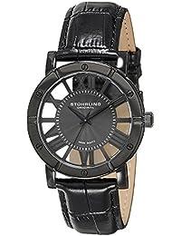 Stuhrling Original Classic Winchester Advanced - Reloj cuarzo hombre correa de cuero negro