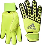 adidas Unisex Torwarthandschuhe Ace Half Negative, Solar Yellow/Semi Solar Yellow/Black, 11,5, S90144