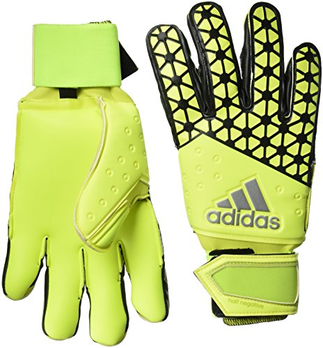 adidas Unisex Torwarthandschuhe Ace Half Negative, solar Yellow/Semi solar Yellow/Black, 11, S90144