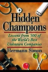 Hidden Champions by Hermann Simon (1996-01-03) Hardcover