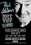 Phil Collins Not Dead Yet 2017 Accor Hotels Arena Paris Foto Poster CD 06 (A5-A4-A3) - A5