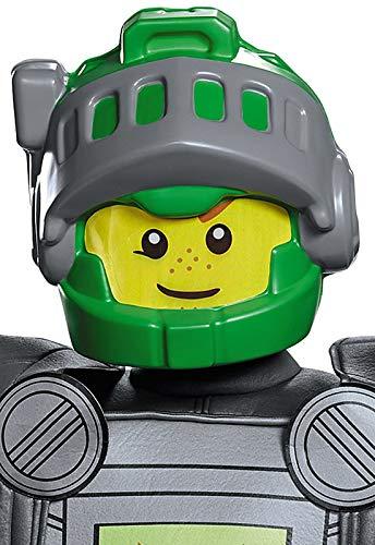Kostüm Knight Kid - Lego Maske, Nexo Aaron, für Kinder, Kostüm-Zubehör