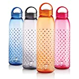#4: Cello Nile PET Bottle Set, 1 Litre, Set of 4, Assorted