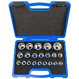 dentado llaves tubulares (8–36mm 12caras–6caras XZN Torx Sistema