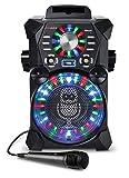 Singing Machine SDL485BK Remix Hi-Def Digital Karaoke System with Resting Tablet Cradle, Microphone