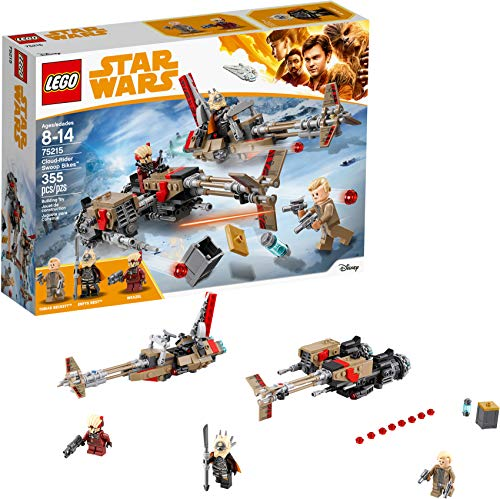 """Lego Star Wars 75215 - """"Solo: A Star Wars Story"""" Cloud-Rider Swoop Bikes (355 pièces)"""