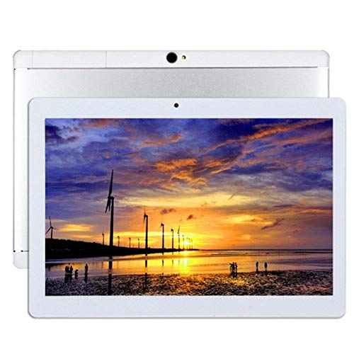 tablet 4gb ram Tablet Android da 10 pollici Octa Core CPU 4 GB RAM 64 GB Memoria interna WiFi Fotocamera GPS Doppia SIM senza blocco rete 3G tablet (Metallo argento)