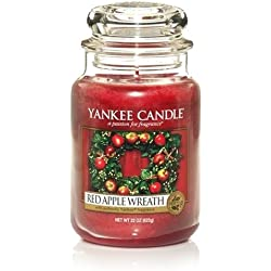 Yankee Candle Duftkerze Red Apple Wreath 623 Gramm