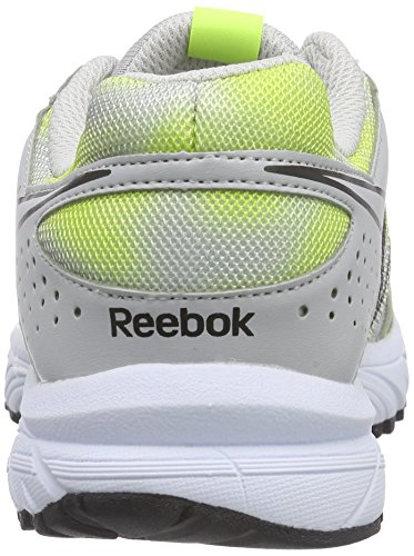 Reebok - Triplehall 4.0, Scarpe da corsa Donna Grigio (Grau (Steel/Solar Yellow/Black/White))
