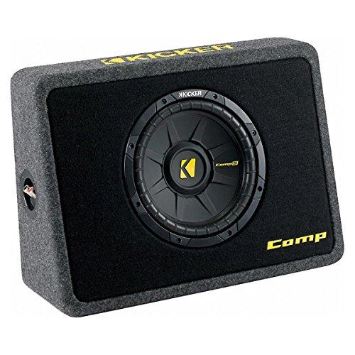 KICKER Bassreflexbox TCompS102 (TCWS102) (Kicker Subwoofer)