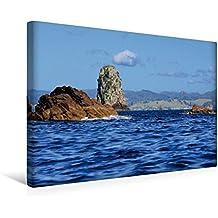 Premium Textil-Leinwand 45 cm x 30 cm quer, Mercury Bay   Wandbild, Bild auf Keilrahmen, Fertigbild auf echter Leinwand, Leinwanddruck: unterwegs auf ... vor der Coromandel Peninsula (CALVENDO Natur)