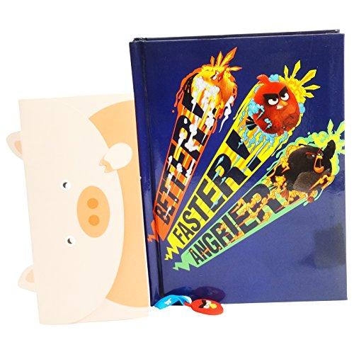 Angry Birds Diario Scolastico Standard 12 Mesi Blu