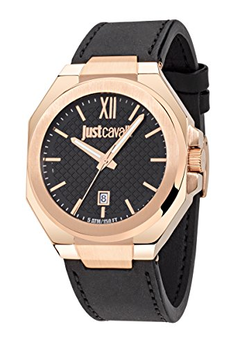 Just Cavalli Men's Watch Strong Analog Quartz Leather R7251573005