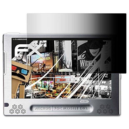 atFoliX Blickschutzfilter für Archos 704 WIFI Blickschutzfolie - FX-Undercover 4-Wege Sichtschutz Displayschutzfolie (Wifi 704 Archos)