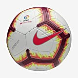 Nike Ll Nk Strk-Fa18, Pallone Uomo, White/Pink Flash Team Red, 5