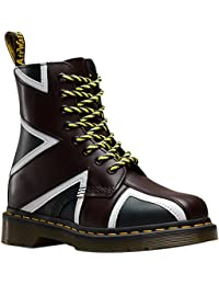 Dr.Martens Womens Pascal Brit 8-Eye Leather Boots