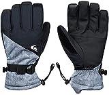Quiksilver Mission Gants de Ski/Snowboard Homme Grey_Simple Texture FR : S (Taille Fabricant :...