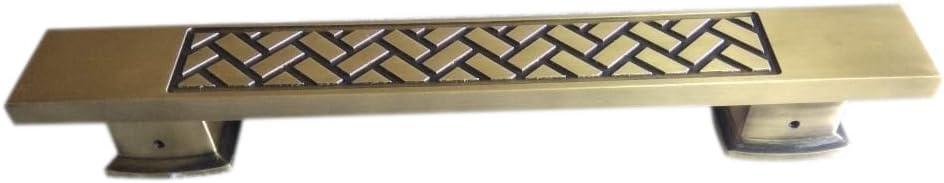 "Surya Prabha Aluminium Main Door Handle, Gold (Size: 24""-inches) 2 Pcs. SP-101"