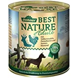 Dehner Best Nature Hundefutter, Adult Wild und Huhn mit Nudeln, Probiergröße, 400 g