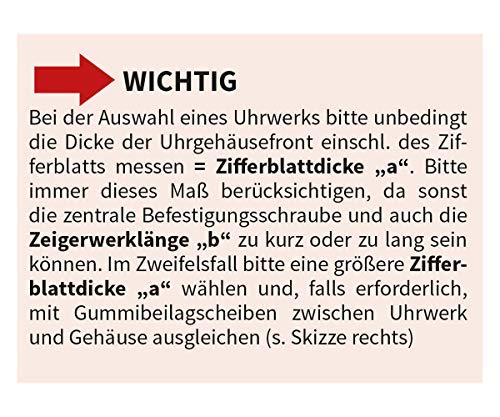 """Funkuhrwerk FK """"German Technology"""" Zeigerwerklänge bis 19,5 mm – C336462 - 5"""