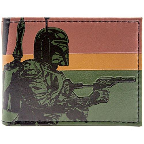 Star Wars Boba Fett Grün Portemonnaie Geldbörse (Film Qualität Boba Fett Kostüm)
