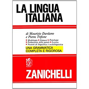 La lingua italiana. Morfologia sintassi fonologia