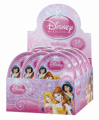 Bullyland BU11972 - Sammelfiguren Walt Disney Prinzessinnen Serie 3, 24 Booster im Display