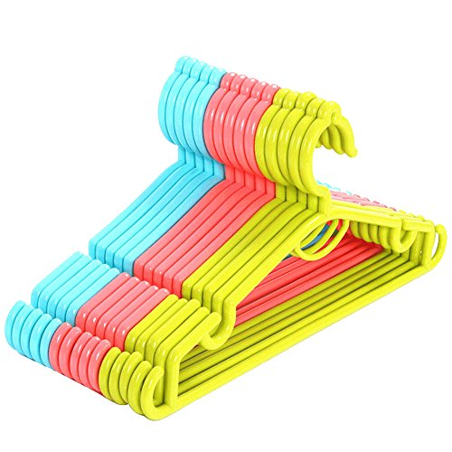 Multi Coloured Plastic Hanger,Adult Plastic Coat Hangers,Plastic for sale  Delivered anywhere in Ireland