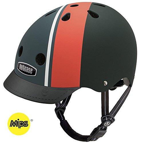 Nutcase Street Element Stripe Matte MIPS Multisport Helm, Größe:S (52-56 cm)