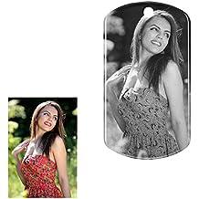 Llavero Personalizado con Foto 2 Caras,Llaveros Originales Personalizados, Llavero con Texto o Fotos