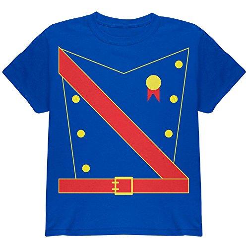 Halloween Prinz King Royal Guard Kostüm Jugend T Shirt königlicher Jüngling ()