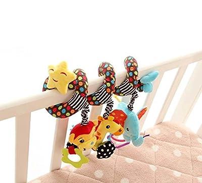 Singring Infant Baby Activity Spiral Bed & Stroller Toy (Star)