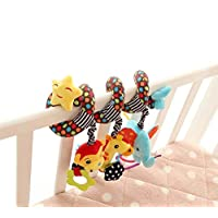 Singring Infant Baby Activity Spiral Bed & Stroller Toy (Star)