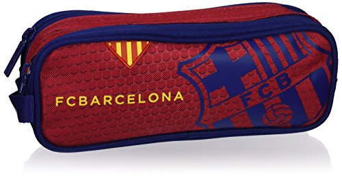 Futbol Club Barcelona- F.C Barcelona Neceser Adaptable a Carro, Color Azul/Granito (SAFTA 811572707)