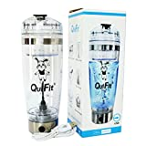 Agitador Eléctrico Proteínas Shaker Botella, QuiFit Coctelera Para...