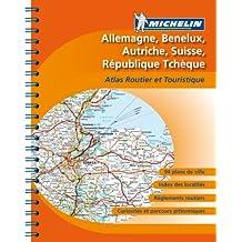 Atlas routier Allemagne, Bnelux, Suisse, Autriche, Rpublique Tchque