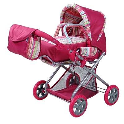 KNORRTOYS.COM 61838 Kyra - Cochecito de muñecas en color rosa por Knorrtoys.com