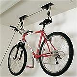 Bicicleta de la polea techo de soporte de la montacargas de techo de aire para bicicleta de arnés de seguridad de en inglés sobre el ciclo de almacenamiento organizador para el baño de pared para herramientas de