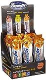 Xenofit carbohydrate gel drink | Kohlenhydratgel | schnelle Energie beim Sport | mit Vitamin C und Zink | 21x60 ml | Orange